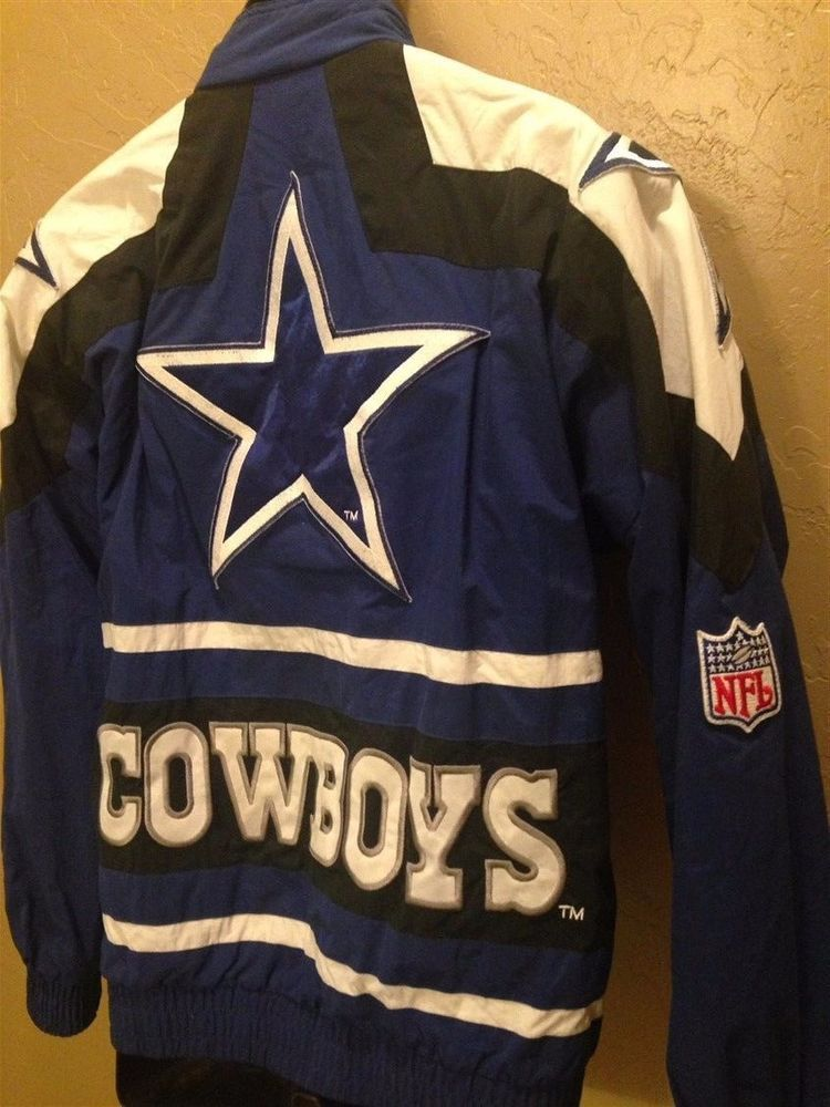 Vintage Dallas Cowboys Jacket Coat NFL Pro Line Apex One  ApexOne   DallasCowboys 5ccd8e757