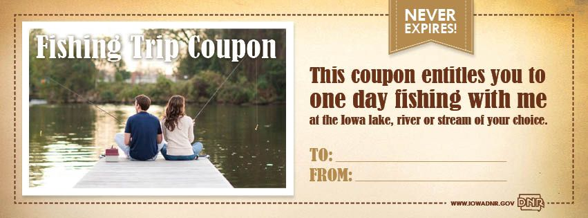 Fishing trip coupon great for birthdays holidays and just fishing trip coupon great for birthdays holidays and just because gifts iowa yelopaper Gallery