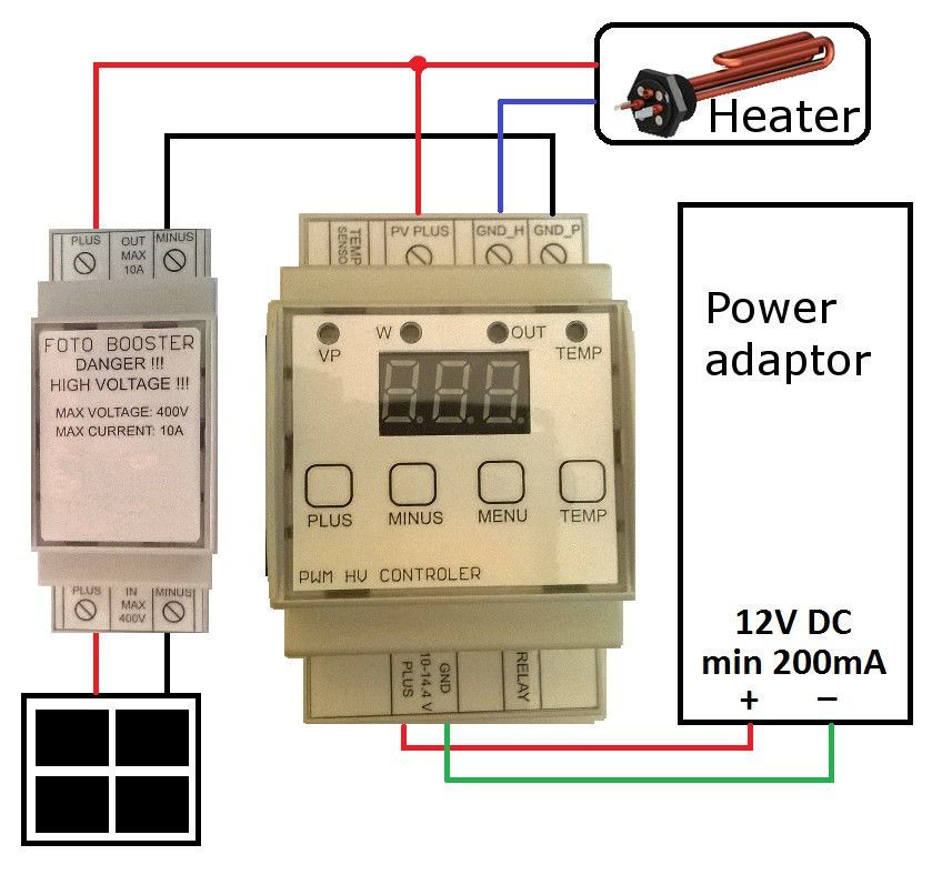 Pwm Mppt Heater Charger Regulator Solar Photovoltaic Solar Panels Hot Water Pv Solar Panels Solar Solar Power Panels