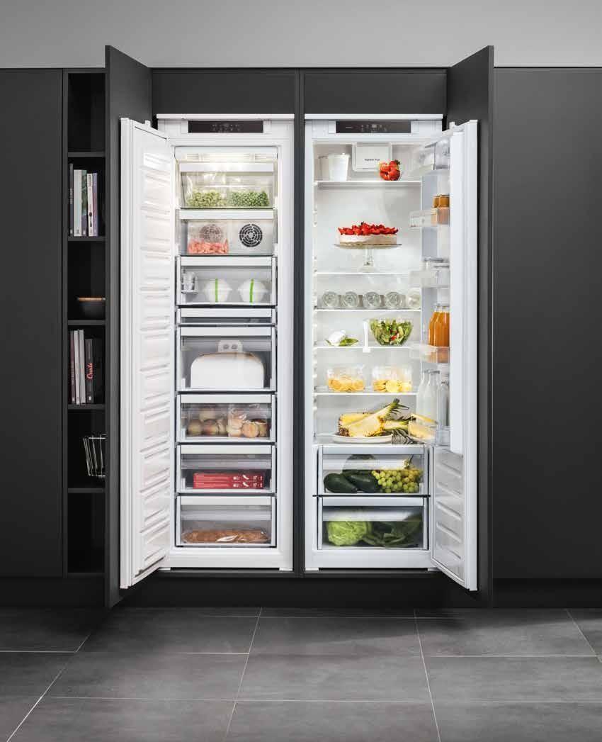 bauknecht side by side koelkast en vrieskast koelkasten gespot voor de keuken pinterest. Black Bedroom Furniture Sets. Home Design Ideas