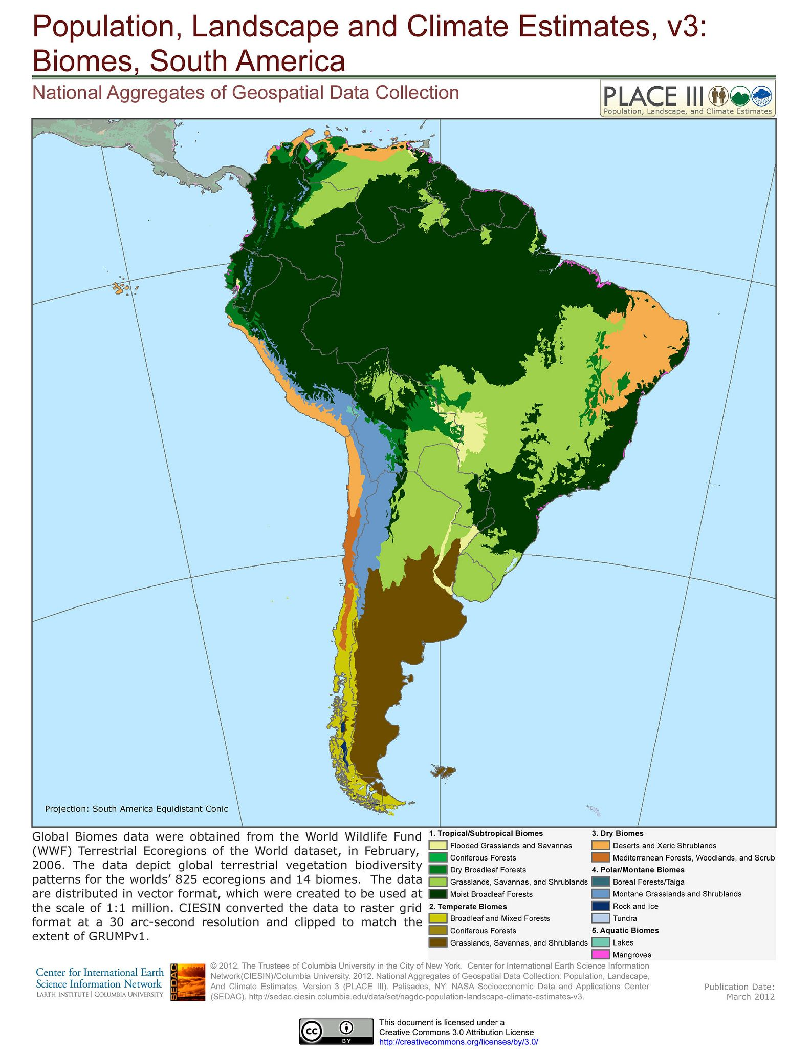 Biomes South America Biomes Geography And Homeschool - Biomes map of the us