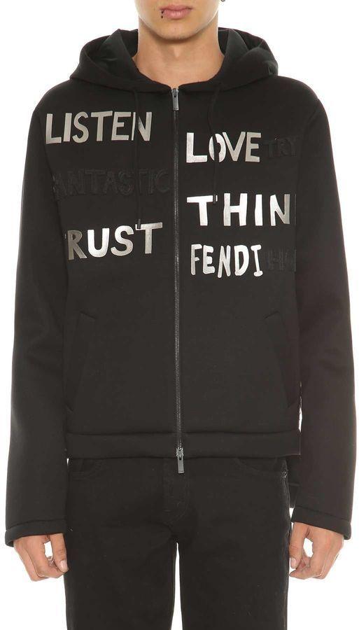 Fendi Sweatshirt With Writings