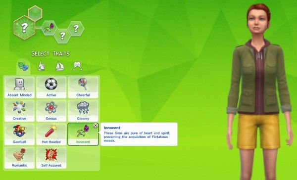 Mod The Sims Innocent Trait By Thedarkgod Sims 4 Downloads Sims Sims 4 Sims 4 Traits