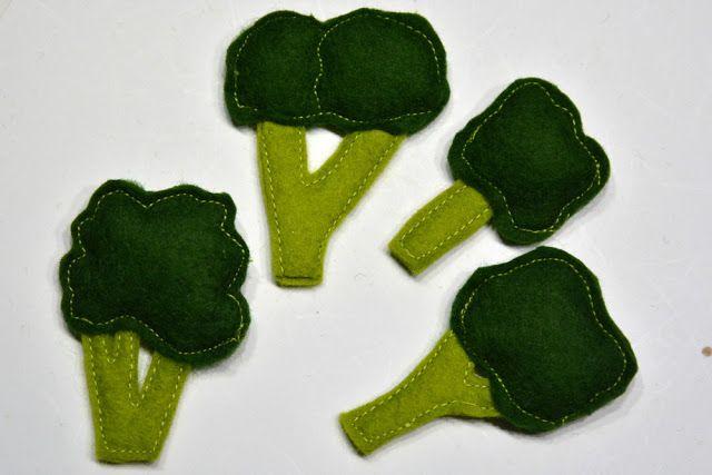 Brokkolie aus Filz