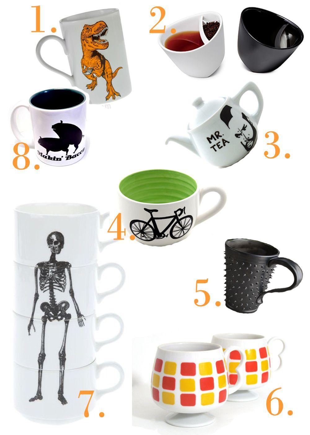 Coffee & Tea Mugs - and a Mr. T Teapot!
