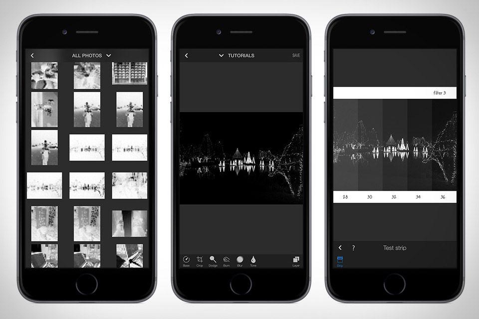 Darkr Filters App App Development App Design