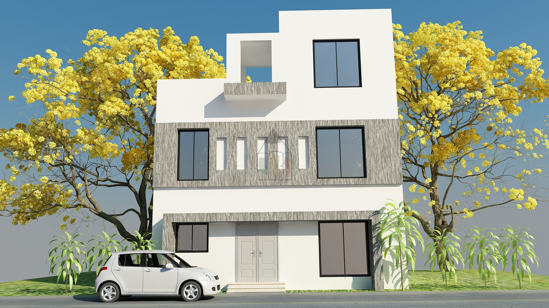 3.5 marla house map | Front Elevation | Pinterest | House, Maps and As