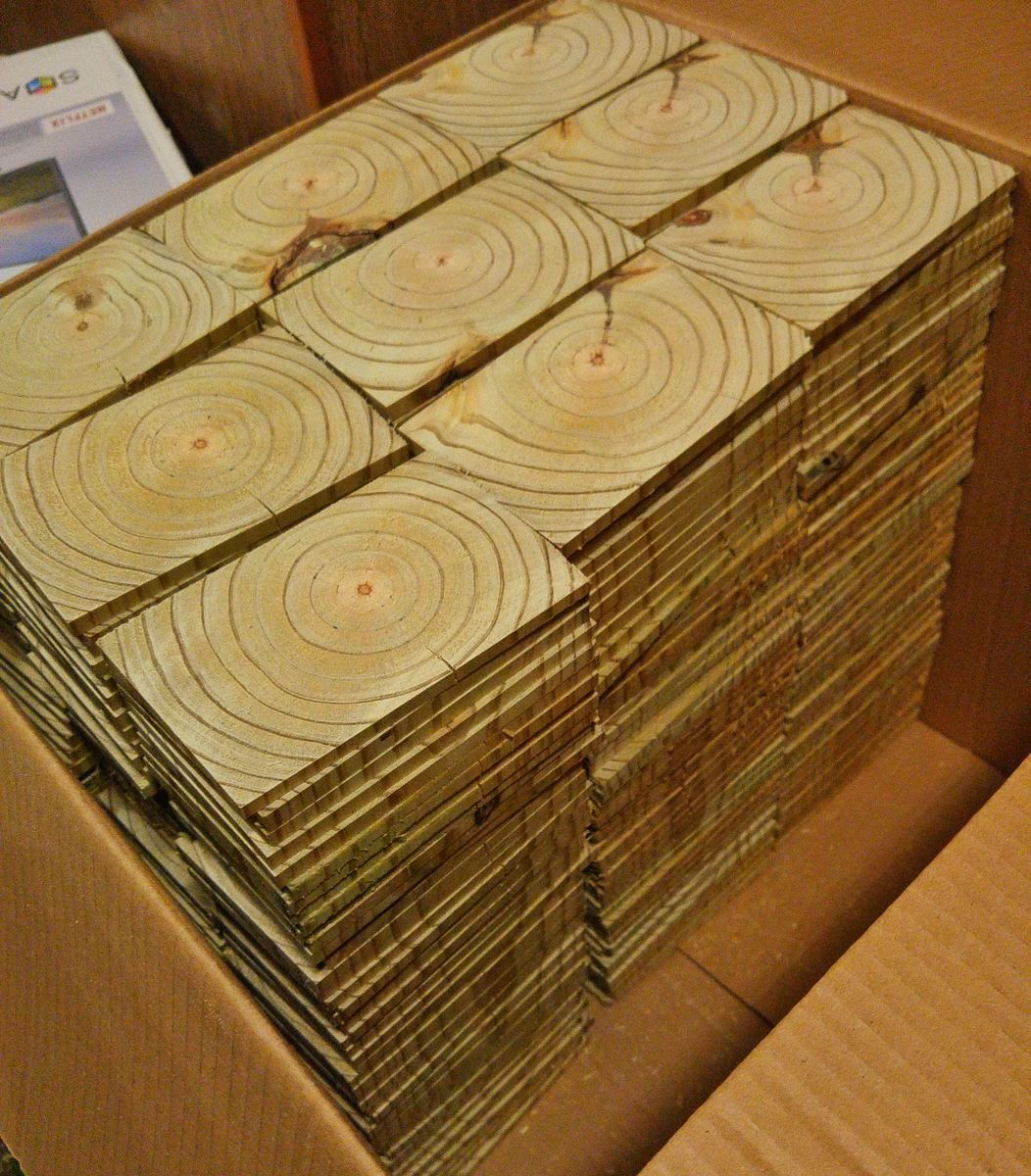 End Grain Wood Floor Home Ideas Diy Flooring Brick