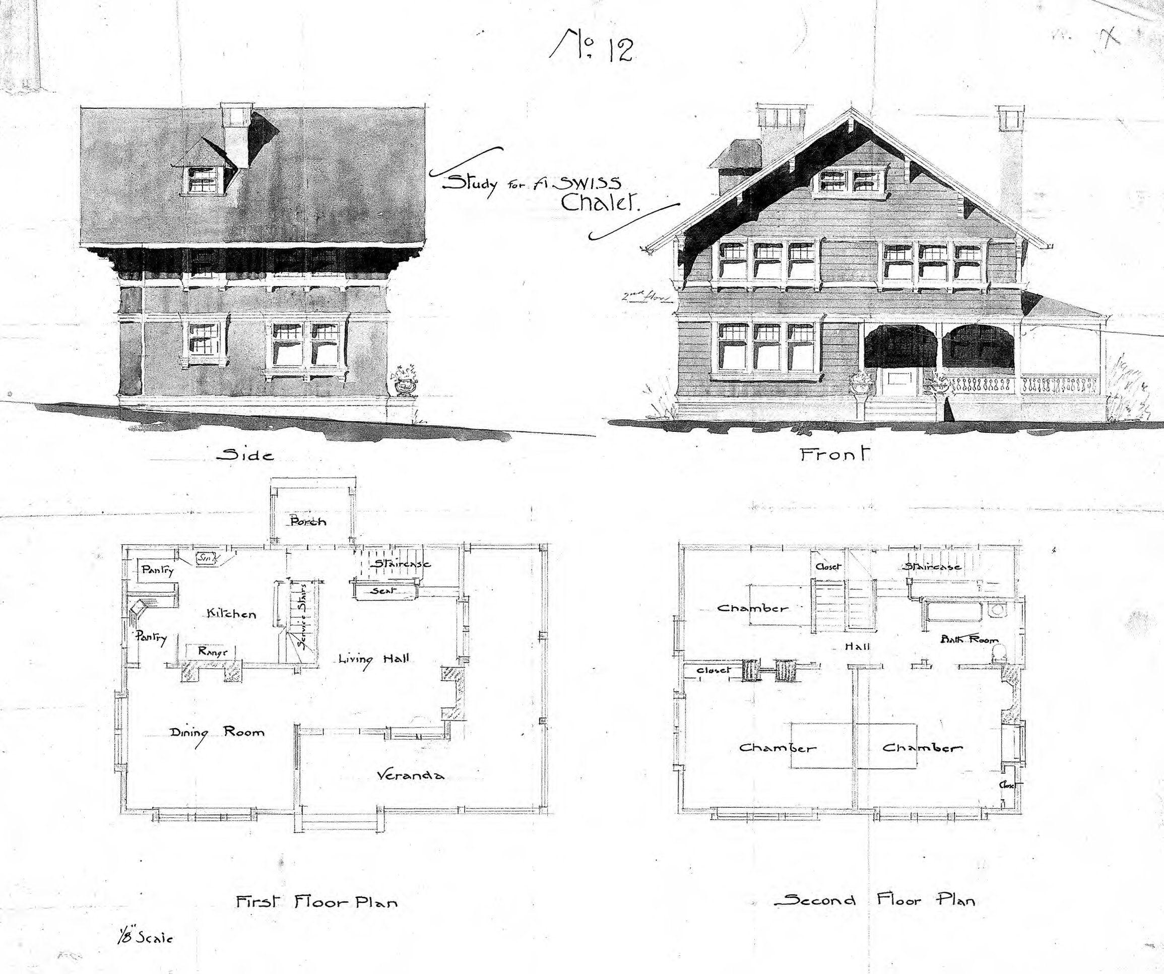 Resolver 2 310 1 933 Pixels Floor Plans Swiss Chalet Biltmore Estate Asheville Nc