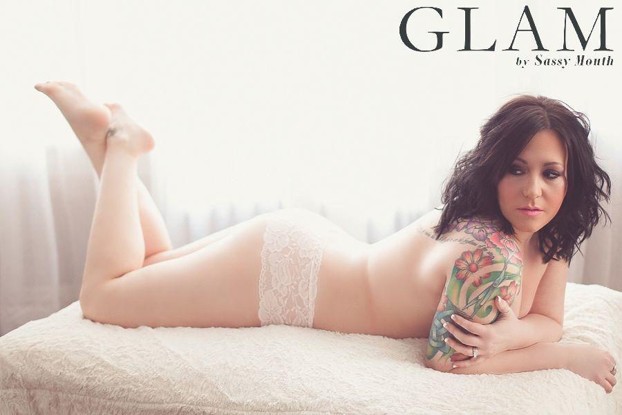 plus size boudoir ct photographer sassy mouth   sassy mouth glam