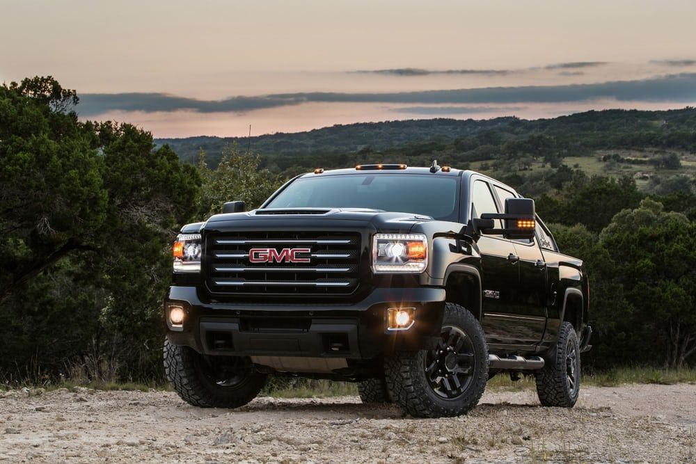 Gmc Sierra Hd All Terrain X Is Darker Rougher And Tougher Than Before Gmc All Terrain Gmc Sierra 2500hd Gmc Sierra
