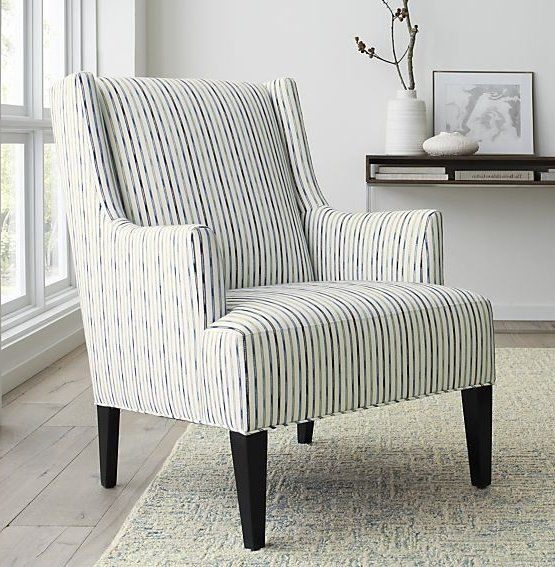 Our Wing Chair For A New Age Features Softer Lines And Scaled Down  Proportions In A