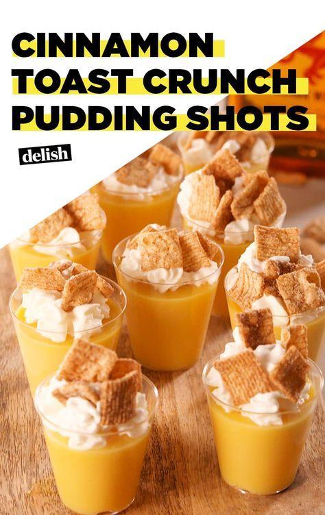 Cinnamon Toast Crunch Pudding Shots Are A CTC Lover's DreamDelish #cinnamontoastcrunch