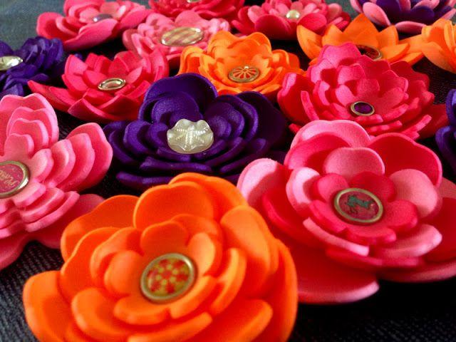 Beste foam bloemen maken - Google zoeken (met afbeeldingen) | Bloemen LS-74