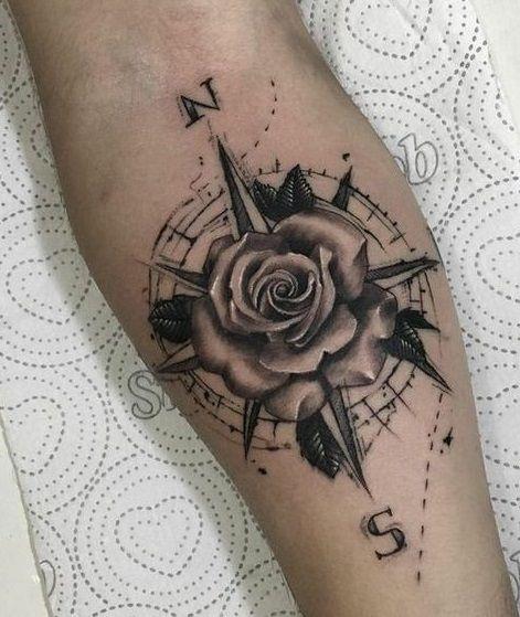 Photo of 30 idées de tatouage boussole pour les femmes