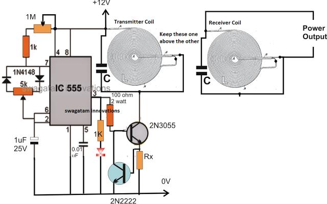 high current wireless battery charger circuit electr nica rh pinterest com