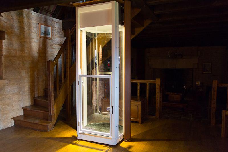 Stiltz Home Lift Elevator Installation In A Historic