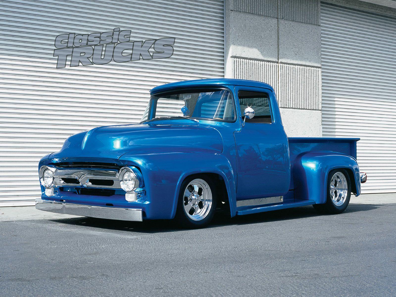 Classic Truck Desktop Wallpapers Free Downloads Con Imagenes