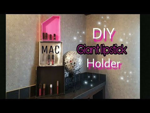 Mac Lipstick Display Organizer Standholder Giant Diy Giftroom Fascinating Mac Lipstick Display Stand