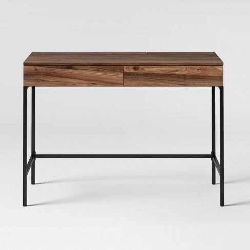 Loring Writing Desk Project 62 Target Walnut Desks Writing Desk Modern Furniture Decor