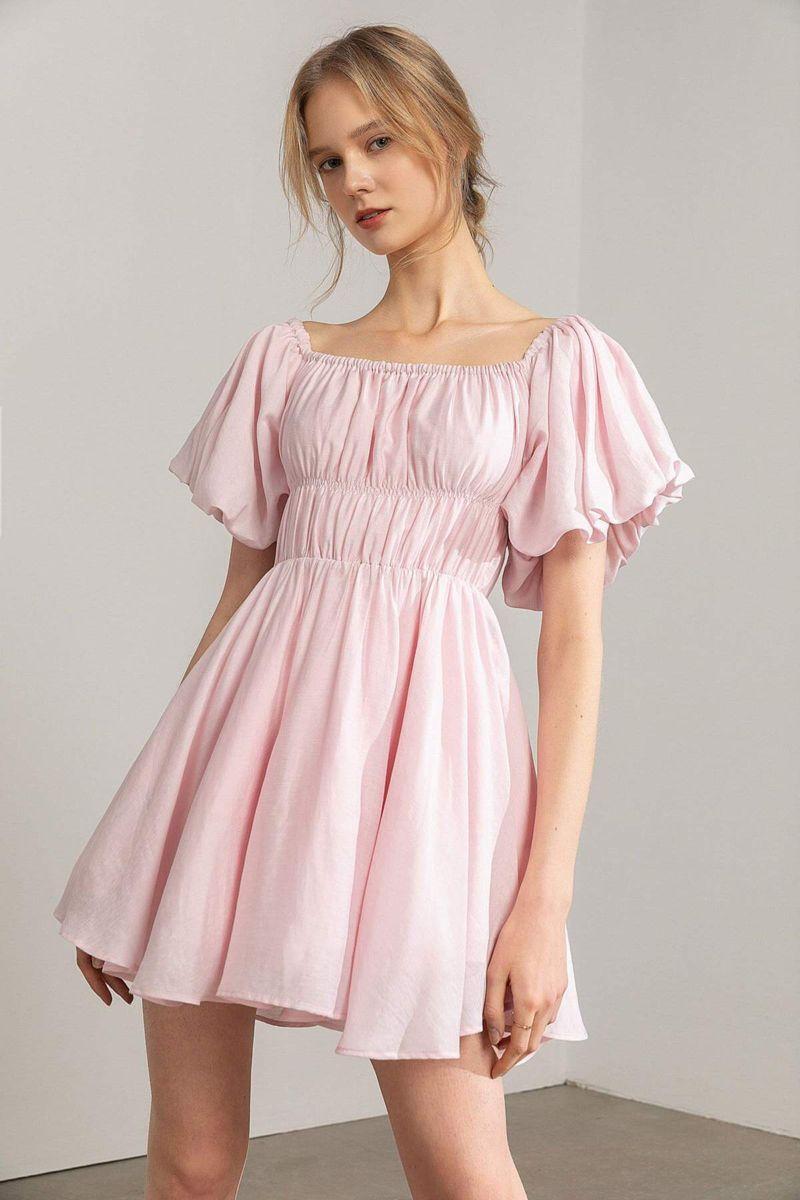 Petal Pink Princess Dress