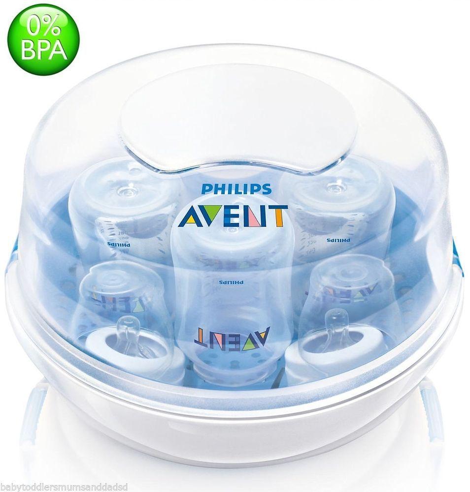 Microwave Baby Bottle Steriliser Philips Avent Natural Steam Steriliser Safety