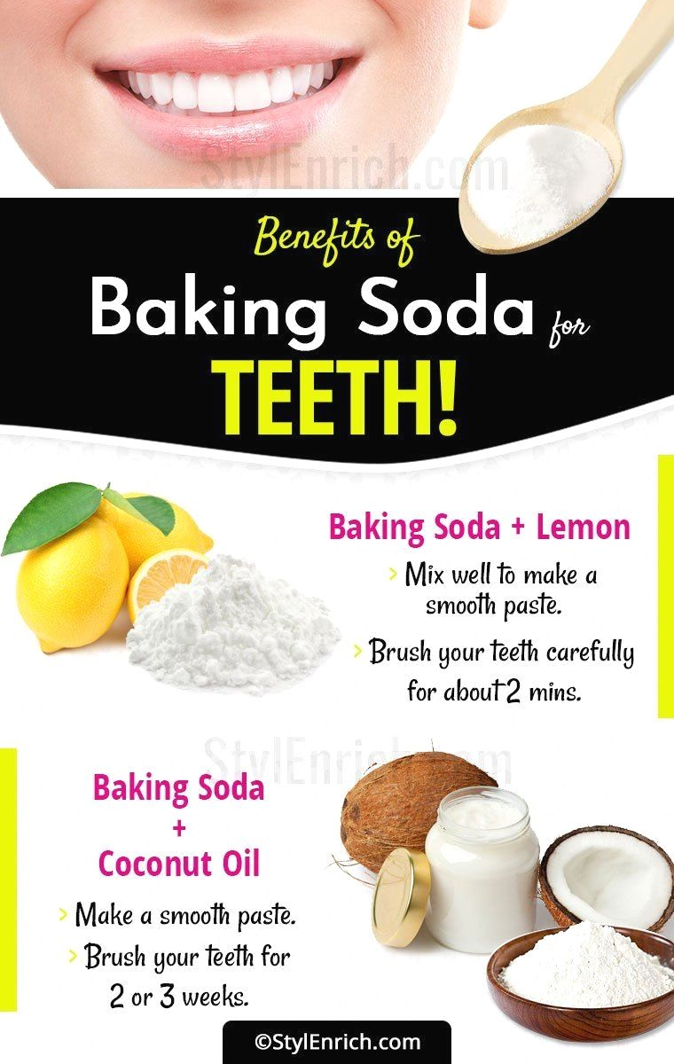Need A Dazzling Look? Whiten Your Tooth With Baking Soda pop! #howtowhitenyourteeth
