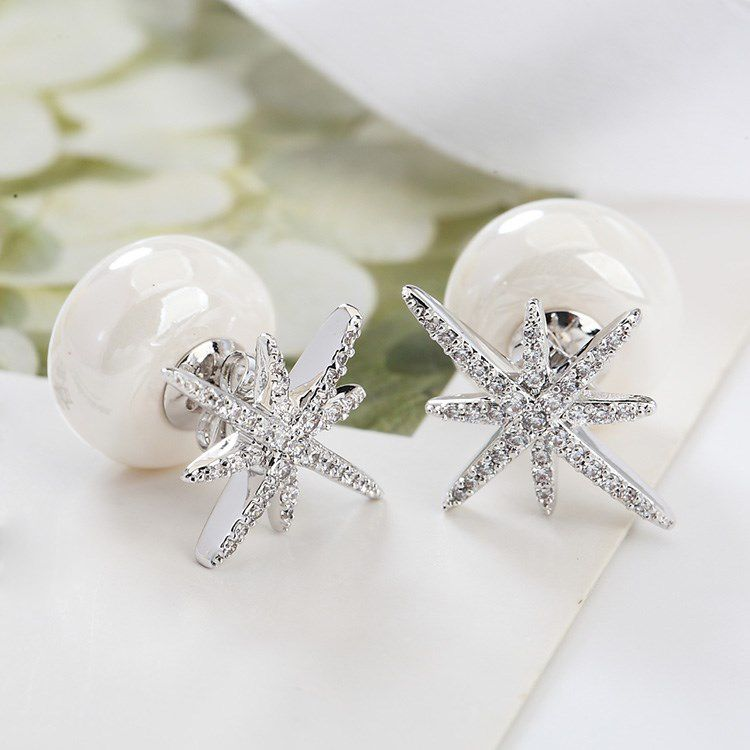 stud earrings boutique dottie pin rhinestone prom couture