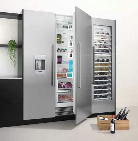 Siemens Side By Side Design Kuhlschrank Luxus Kuche Design Luxuskuchen