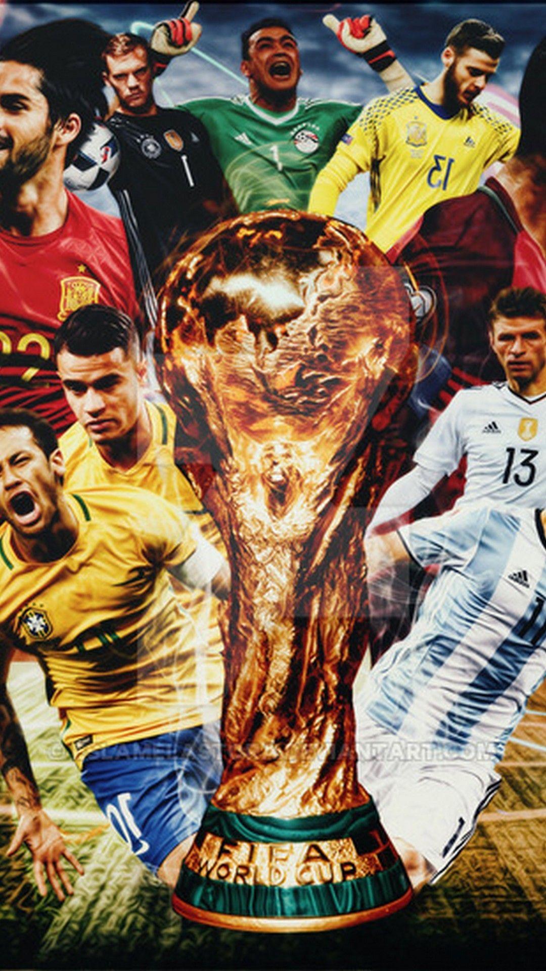 Wallpapers Fifa World Cup 2018 La Coupe De Mande Pinterest