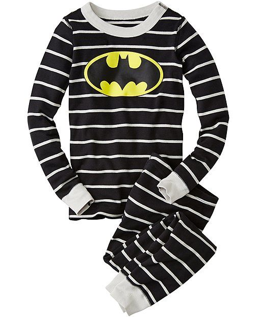 DC Comics™ Batman Long John Pajamas In Organic Cotton  f3b7c1af1