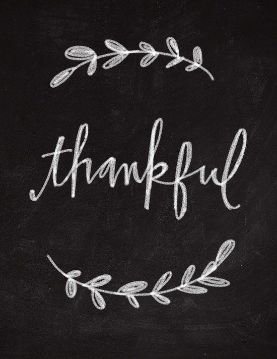 I Am Thankful For… – Alicia In A Small Town