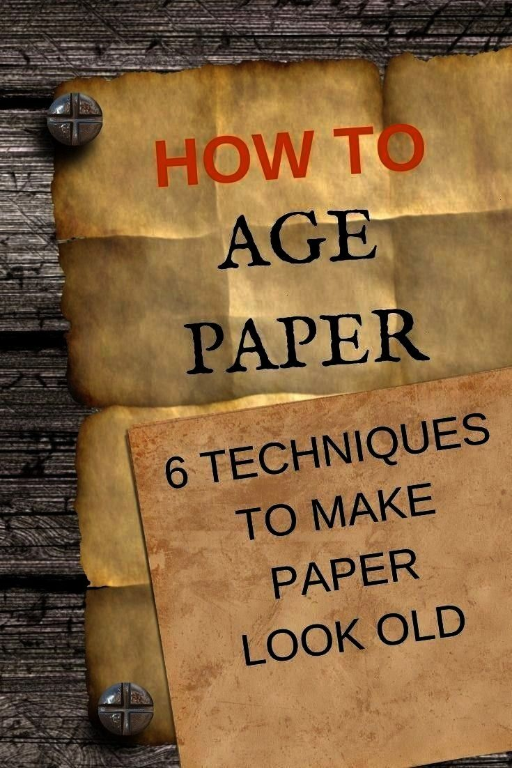 Paper  6 easy technique to make paper look old  Einat Kessler Techniques to make your paper look old Find easy techniques to age paper and give it a vintage distressed lo...