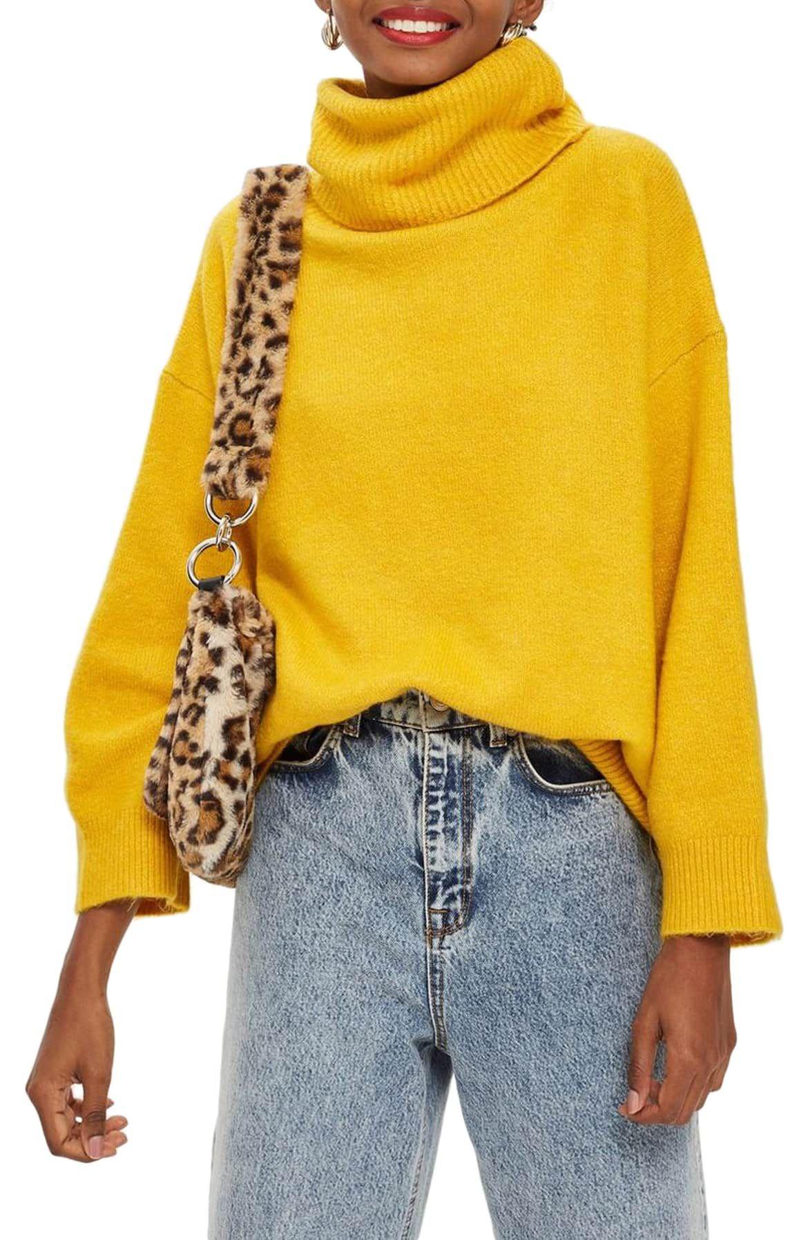 4940d4a22e Oversize Turtleneck Sweater