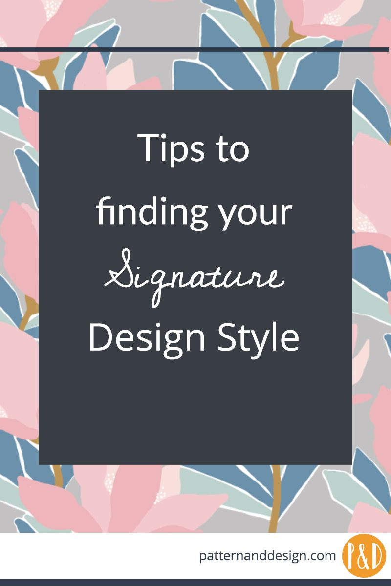 Learn To Create Surface Pattern Designs Signature Design