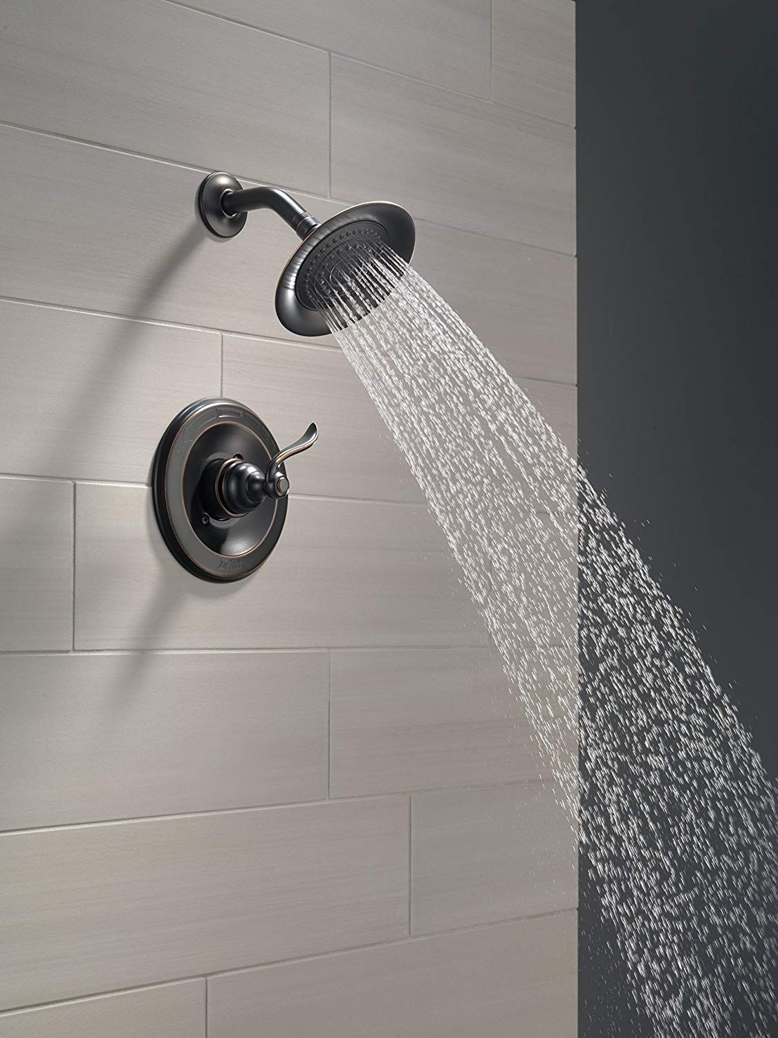 View The Delta Vero Monitor 17 Series Shower System With Diverter Trim Shower Head Slide Bar Hand Show Shower Heads Water Softener Shower Head Shower Systems