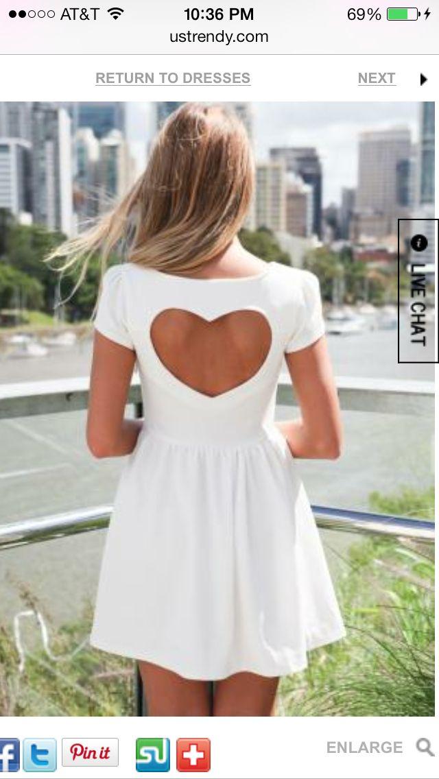 Heart shaped cut out, Love It!!