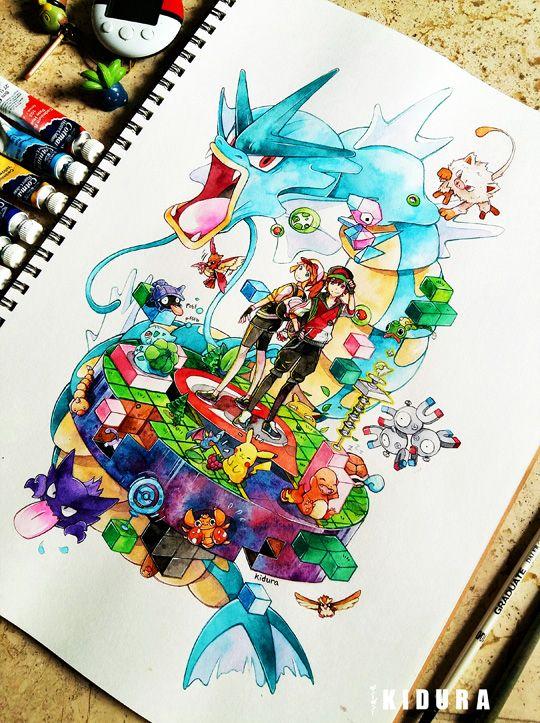 kidura   Art, Pokemon, Pogo