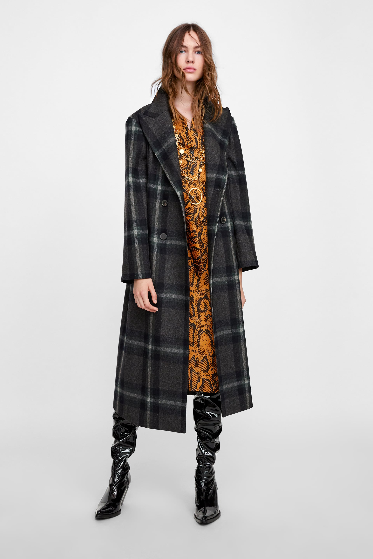 Stylish but warm winter coats rare photo