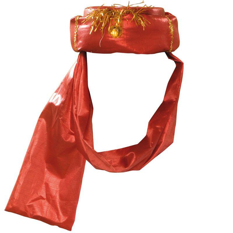 Sombrero de Marajá Rojo #sombrerosdisfraz #accesoriosdisfraz #accesoriosphotocall