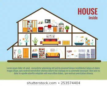 Cross Section Of A House Google Search House Interior House Inside House