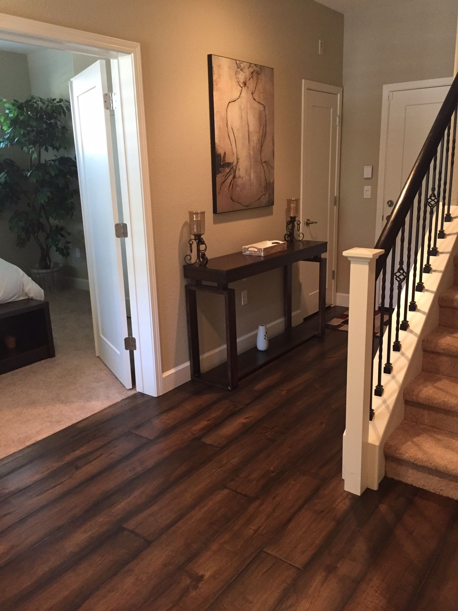 Johnson Ale House Engineered Hardwood Installed By Precision Flooring Contact Us Today For Your Flooring Needs Beige Room Engineered Hardwood Hardwood Floors