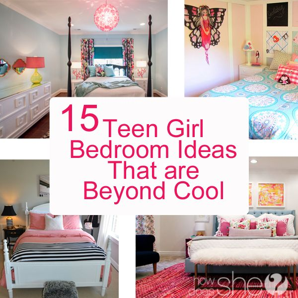 Teen Girl Bedroom Ideas  15 Cool DIY Room Ideas For Teenage Girls via  @howdoesshe