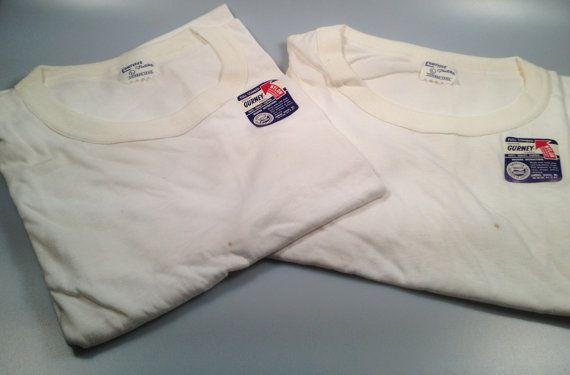 DEADSTOCK 50s Vintage MEN'S Undershirts by rememberwhenemporium, SOLD