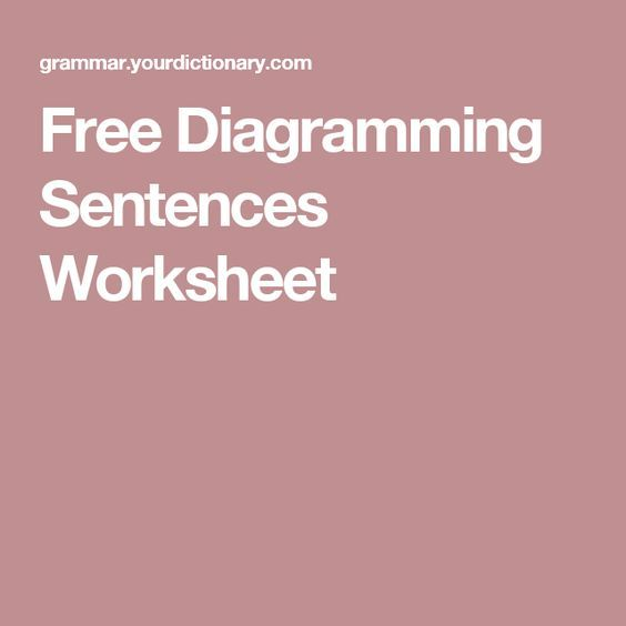 Free diagramming sentences worksheet cc iew pinterest free diagramming sentences worksheet ibookread ePUb