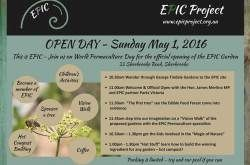 EPIC Project Open Day George Tindale Gardens 33 Sherbrooke Road Sherbrooke