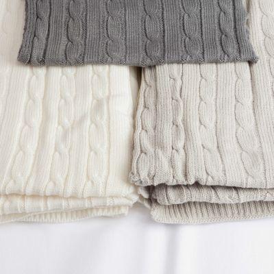 Plaid Tricot En Pur Coton | Maison | Pinterest | Plaid, Plaid
