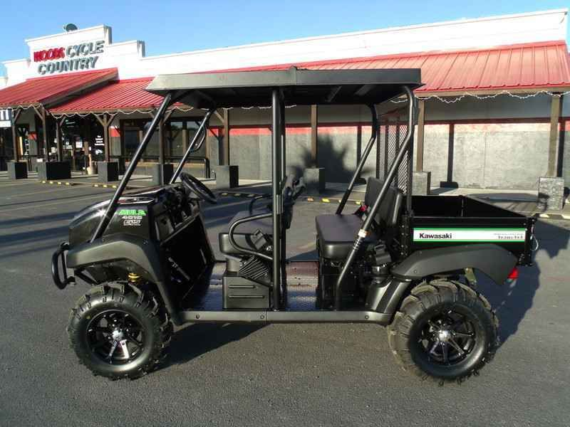 Check out this New 2017 Kawasaki Mule 4010 Trans 4X4 SE ATVs For