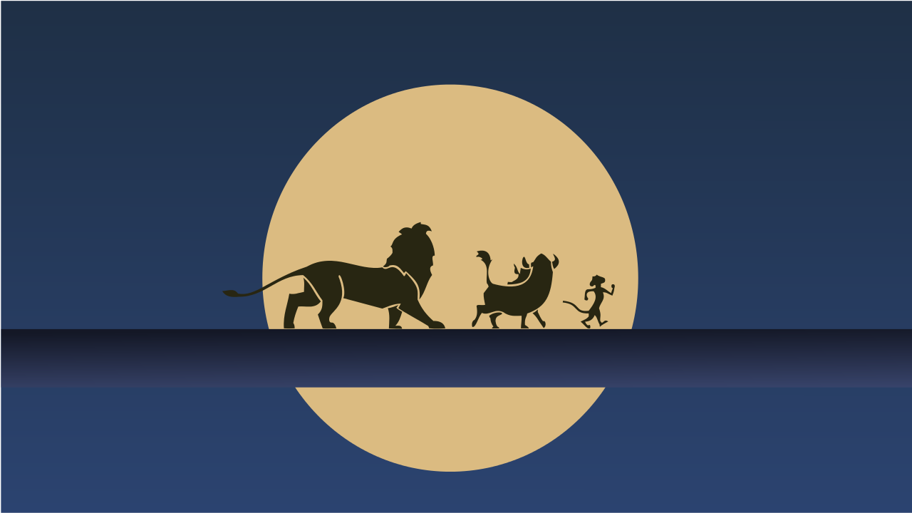 My Minimalist Hakuna Matata Wallpaper I Cute Desktop Wallpaper Disney Desktop Wallpaper Wallpaper Notebook
