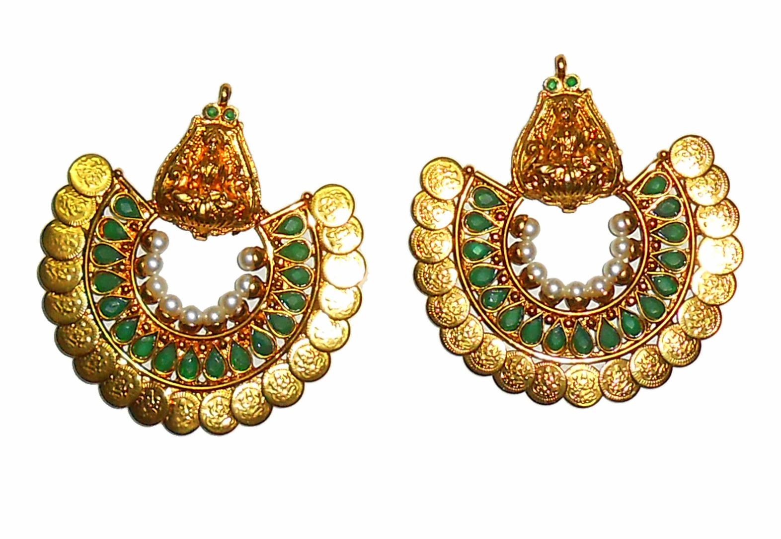 Traditional gold plated Ethnic Earrings for ultimate Elegant ...